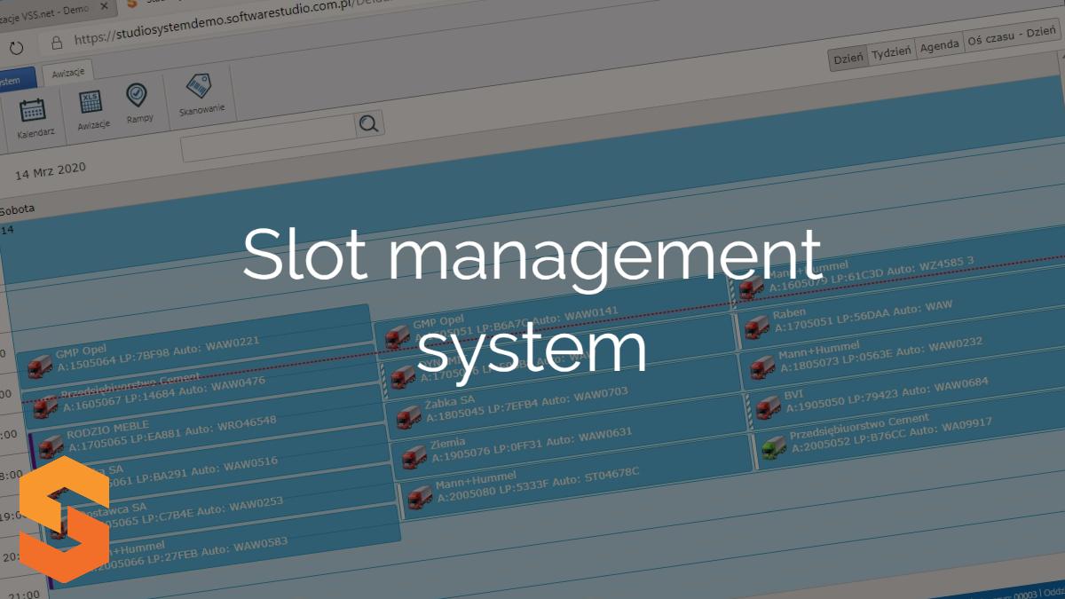 Slot management system
