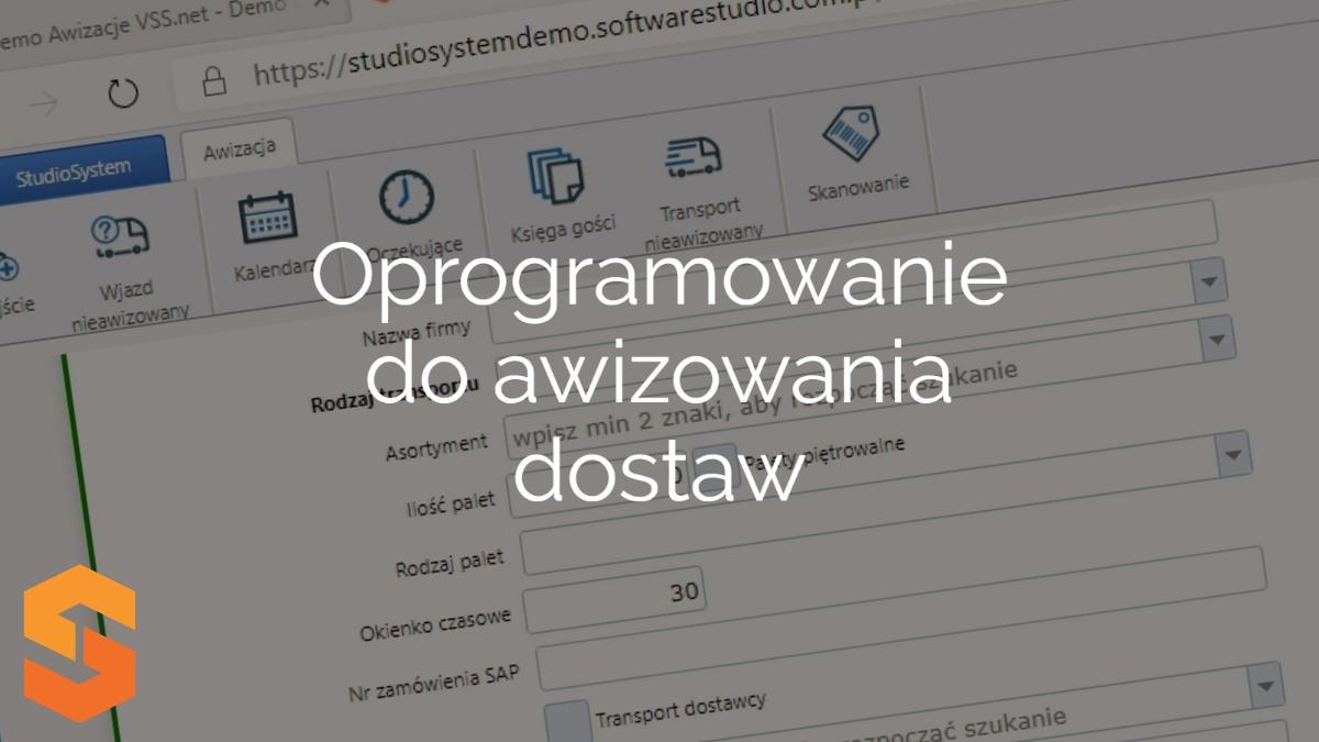 Wykorzystaj wiedzę i doświadczenie SoftwareStudio, aby wdrożyć  oprogramowanie do awizowania dostaw w swoim magazynie.